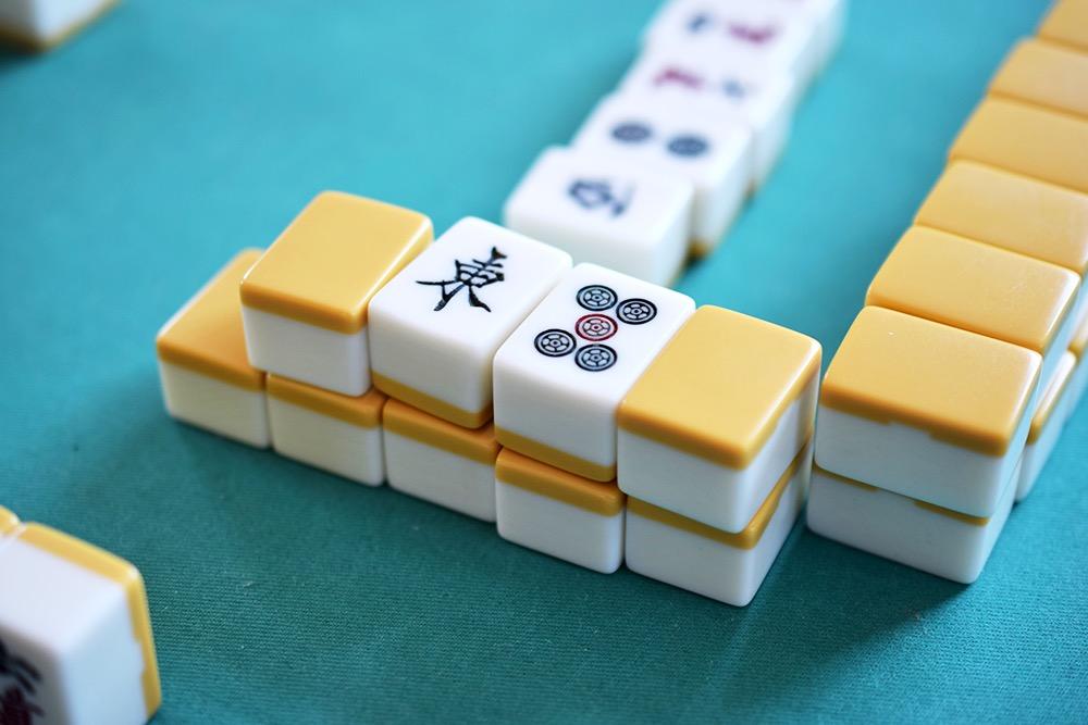 麻雀,雀卓,麻雀牌