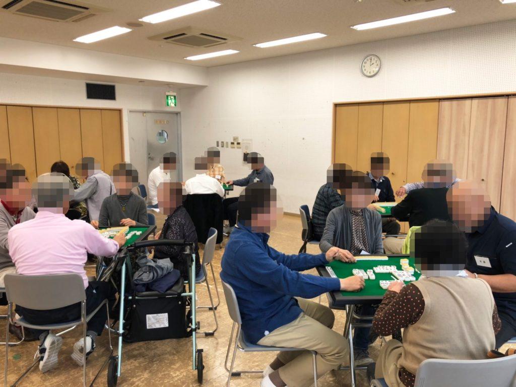 岡山健康マージャン,健康麻雀教室,麻雀体験会